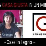FCG in un minuto: CASE IN LEGNO